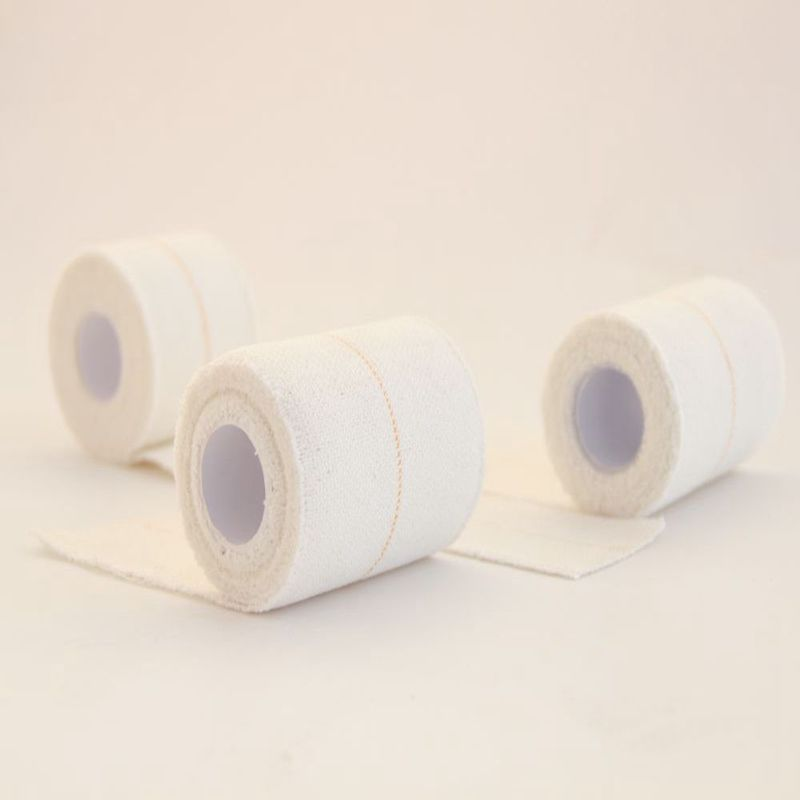 Elastic Adhesive Soft Gauze Medical Bandage Wrap Roll